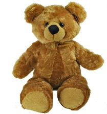 big soft brown teddy bear