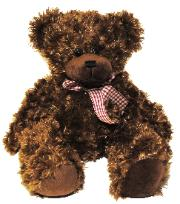dark brown bear for all